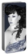 Winter Whisper - Self Portrait Portable Battery Charger
