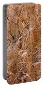 Winter Willow Branches Portable Battery Charger