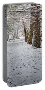 Winter Wonder Land Portable Battery Charger