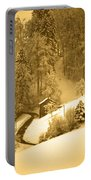 Winter Wonderland In Switzerland - Up The Hills Portable Battery Charger