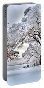 Winter Wonderland Portable Battery Charger
