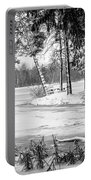 Winter's Tropical Landscape Portable Battery Charger