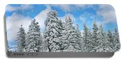 Winterscape Portable Battery Charger