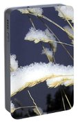 Wintry Wild Oats Portable Battery Charger