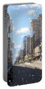 Wisconsin Ave Cubist Portable Battery Charger