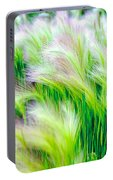 Wispy Green Portable Battery Charger