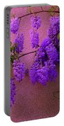 Wisteria At Sunset Portable Battery Charger
