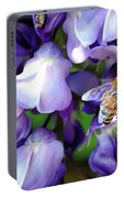 Wisteria Bee Portable Battery Charger