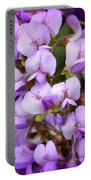 Wisteria Blossoms Portable Battery Charger