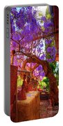 Wisteria Canopy In Bisbee Arizona Portable Battery Charger