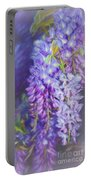 Wisteria Elegance By Kaye Menner Portable Battery Charger