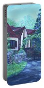 Wisteria Mansion Portable Battery Charger