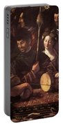 Witchcraft Allegory Of Hercules 1535 Portable Battery Charger
