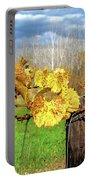 Withered Grape Vine Portable Battery Charger