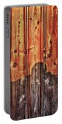 Within A Wooden Fence Portable Battery Charger