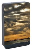 Wny Spring Sunset Portable Battery Charger