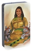 Wolf Clan Mother Portable Battery Charger