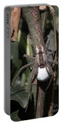 Wolf Spider With Egg Sac Portable Battery Charger