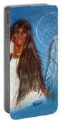 Wolf Woman Portable Battery Charger
