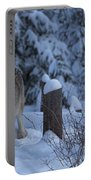 Wolf Wonderland Portable Battery Charger