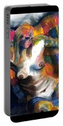 Woman In Color Portable Battery Charger