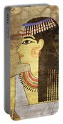 Woman Of Ancient Egypt Portable Battery Charger