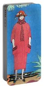 Womens Fashion, George Barbier, 1921 Portable Battery Charger