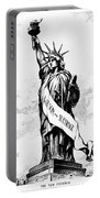 Womens Rights Cartoon, 1915 Portable Battery Charger