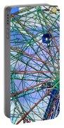 Wonder Wheel Amusement Park 3 Portable Battery Charger