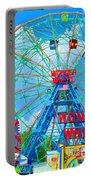 Wonder Wheel Amusement Park 7 Portable Battery Charger