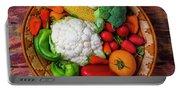 Wonderful Fresh Vegetables Portable Battery Charger