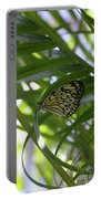 Wonderful Look At A Tree Nymph Butterfly In Foliage Portable Battery Charger