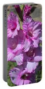 Wonderful Pink Gladiolus Portable Battery Charger