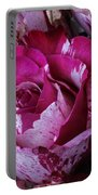 Wonderful Pink Red Rose Portable Battery Charger