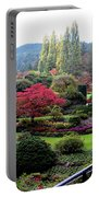 Wonderful Sunken Garden In The Butchart Gardens,victoria,canada 1. Portable Battery Charger