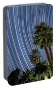 Wonky Star Trails Portable Battery Charger