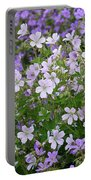 Wood Cranesbill Field Portable Battery Charger