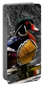 Wood Duck Drake Portable Battery Charger