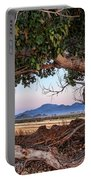 Wood Frame Window Portable Battery Charger