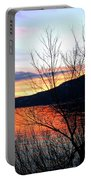 Wood Lake Sunset Portable Battery Charger