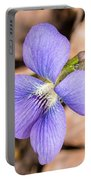 Wood Violet - Full View Portable Battery Charger