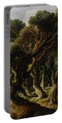 Wooded Landscape Portable Battery Charger