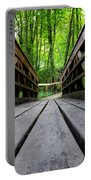Wooden Bridge Portable Battery Charger
