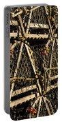 Wooden Lobster Traps Portable Battery Charger
