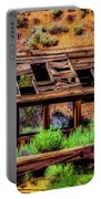 Wooden Shack Portable Battery Charger