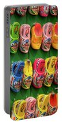 Wooden Shoes From Amsterdam Portable Battery Charger