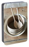 Wooden Spoons Portable Battery Charger