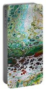 Woodland Abstract Portable Battery Charger