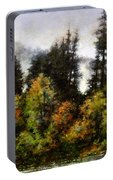 Woodland Bottoms In April Portable Battery Charger