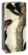Woodpecker Portable Battery Charger by John James Audubon